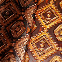 Aztec leather