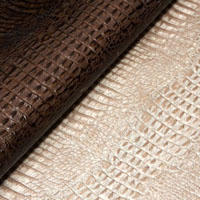 Baby hornback leather