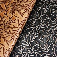 Botanical leather