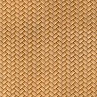 Devore weave leather