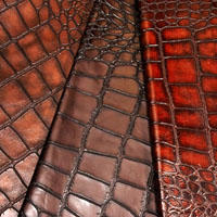 Giant croco leather