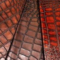 Giant croco leather