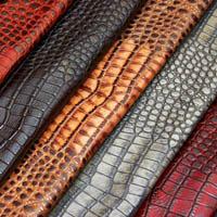 Regal gator leather