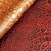 Turtle croc leather