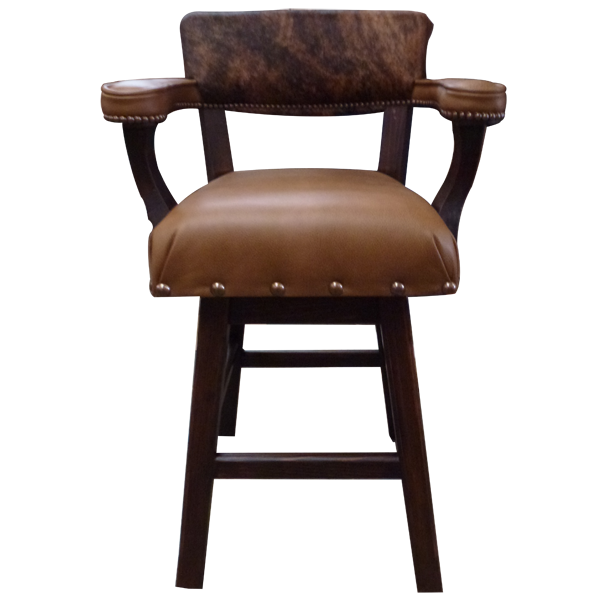 Western Leather Bar Stools bst10a