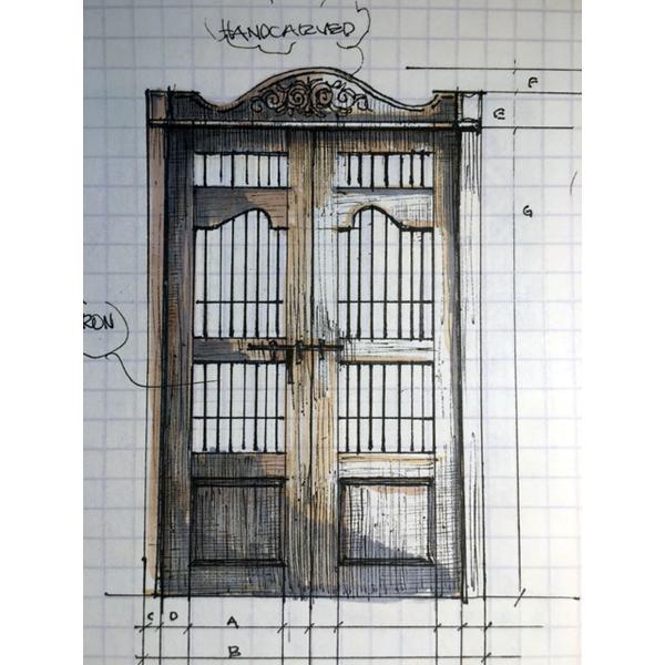 Custommade doors door100