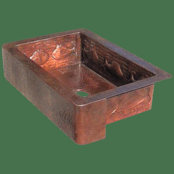Copper Sinks sink30
